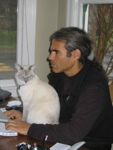 Don Hirsohn of Napa One with cat