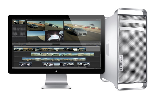 Mac Pro with 27 inch display