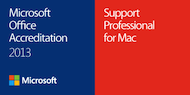 Microsoft Office for Mac Accredited Support Professional, 2013